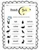 French Birds Worksheet Packet