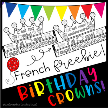 French Birthday Crowns!