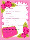 French Birthday invite 6 of 6-Writable PDF & Printable