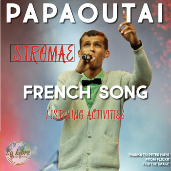 French Black History Month Activities | Stromae Song Listening Activity
