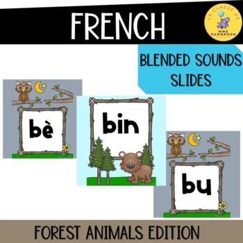 French Blended Sounds Slide Show I Les Sons Composés
