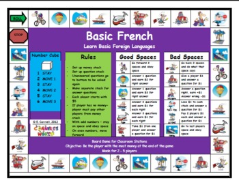 French Board Games Combo Pack