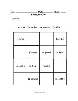 French Body -- Le Corps -- Savez vous planter les choux?