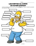 French Body Parts - Label Homer