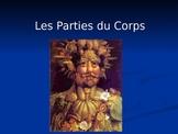 French Body Parts Les Parties du Corps