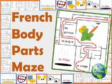 French Body Parts Maze