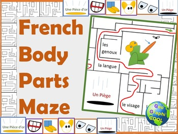 French Body Parts Maze