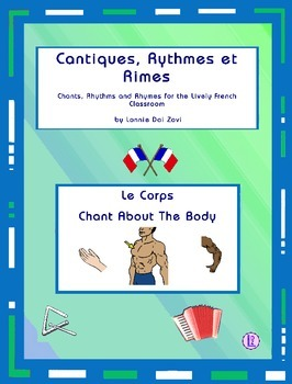 French Body Words - French  Chant from Cantiques, Rythmes et Rimes