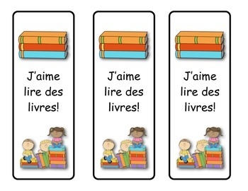 French Book Marks