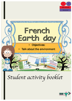 French Earth day the environment booklet for intermediate