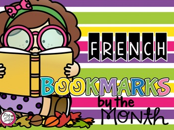 French Bookmarks by the Month!