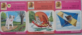 French Books from France audio Cat Story Minou et Cassenoi