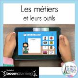 Les métiers et leurs outils French Boom Cards