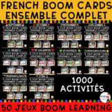 French Boom Cards - 10 mois de l'année - Collection complète