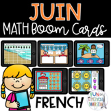 French Boom Cards - June Math Bundle!