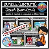 French distance learning with Boom cards | Compréhension d
