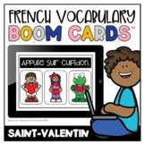 French Boom Cards™ Le vocabulaire de la St-Valentin   Dist
