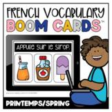 French Boom Cards™ Le vocabulaire du printemps   Distance