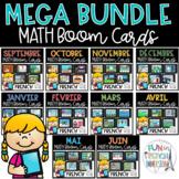 French Boom Cards - MEGA MATH BUNDLE