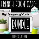 French Boom Cards Growing Bundle I Les Mots Fréquents I Di
