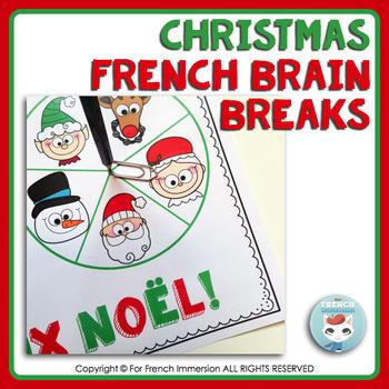 French Brain Breaks | Christmas | Noël