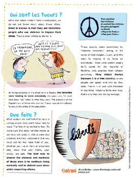 French - Brochure - Paris November 13th Article (Translated)