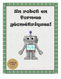 French Build-A-Robot with Shapes