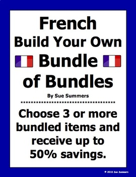 French Build Your Own Bundle of Bundles - French Bundle