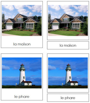 French - Building Cards