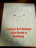 French Bulldog Drawing Lesson: Art Lesson and Reading Less