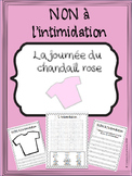 French -Bullying - Intimidation - journée du chandail rose