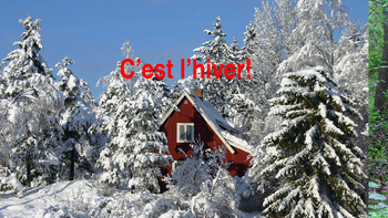"""French: Reading: """"C'est l'hiver!"""" lecture, PRIMARY"""