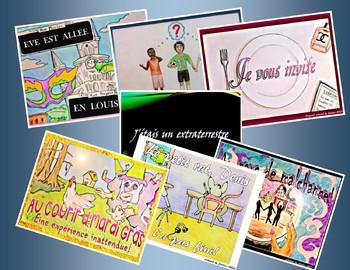 French CI / TPRS stories bundle - Past tenses - Le passé