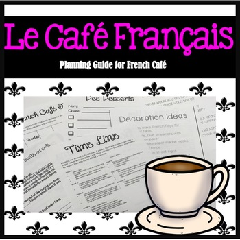 French Café Planner