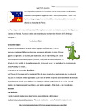 French Cajun Culture Reading and Listening Activities