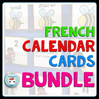 French Calendar Cards BUNDLE