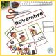 French Calendar Cards BUNDLE