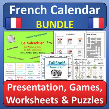 French Calendar (Le Calendrier) BUNDLE
