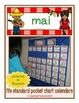 French Calendar Set for May - fiesta theme (for pocket chart calendars)