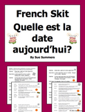 French Calendar and Dates Skit / Role Play / Speaking Activity - Le Calendrier