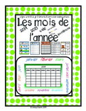 French Calendar pages 2014 2015, Seasons Word Wall Ontario Curriculum