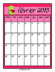 French Calendar pages 2014 2015, Seasons Word Wall Ontario