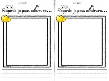 French:  Can you build it?  Block Center Idea