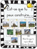 French:  Can you build it?  Block Center Idea -- Real Images