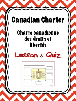 French - Canadian Charter of Rights and Freedoms - Lesson and Quiz