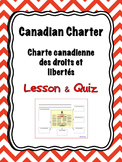 Canadian Charter of Rights and Freedoms - Lesson and Quiz *FRENCH*