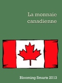 French Canadian Coin Worksheets
