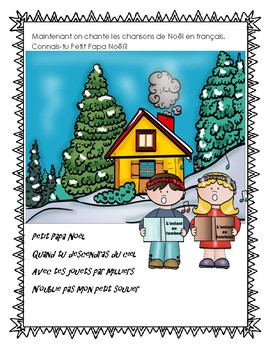French Canadian Christmas Story and Activities Franco-Ontarien traditions