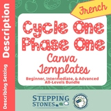French Canva Template Links for Cycle One Phase One Steppi