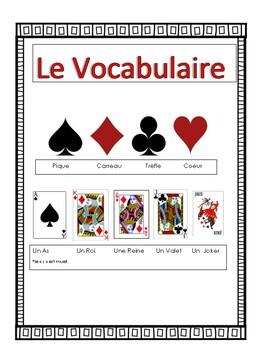 French Card Games Speaking Activity Va à la pêche and Le Menteur